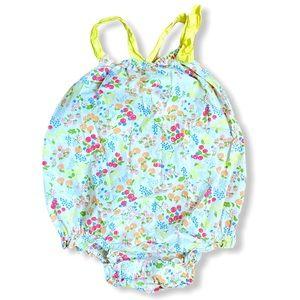 Baby GAP   Fruit Patterned Bubble (12-18 m)🍒🍑🍓
